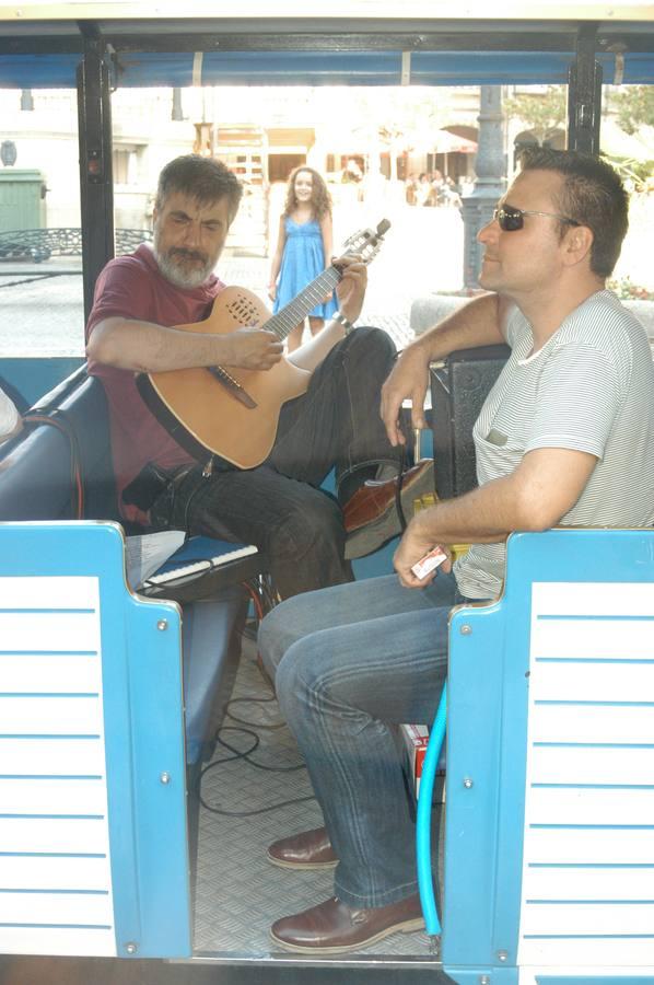 Música en el tren