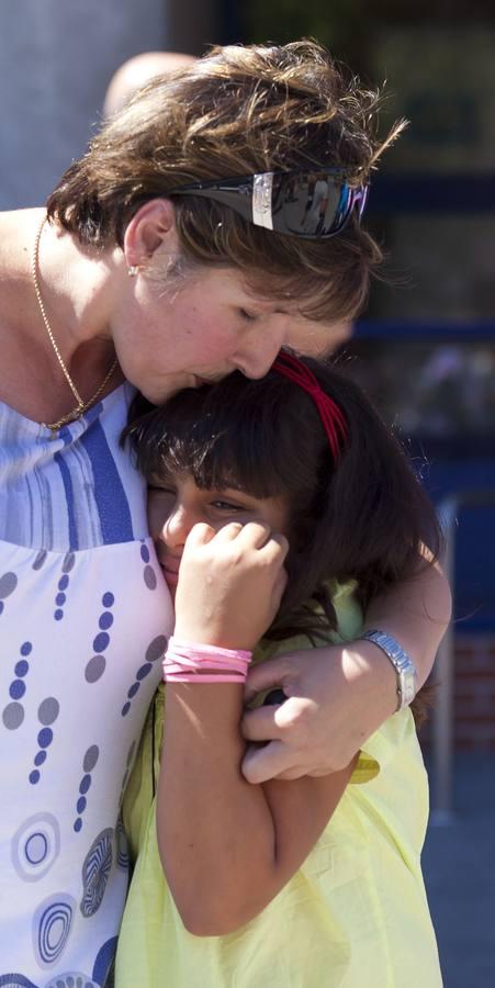 Las familias riojanas y los niños saharauis se despiden