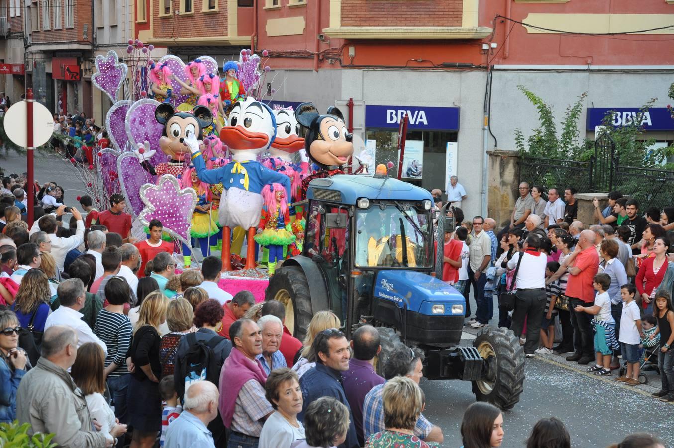 Degustaciones y desfile de carrozas en Haro