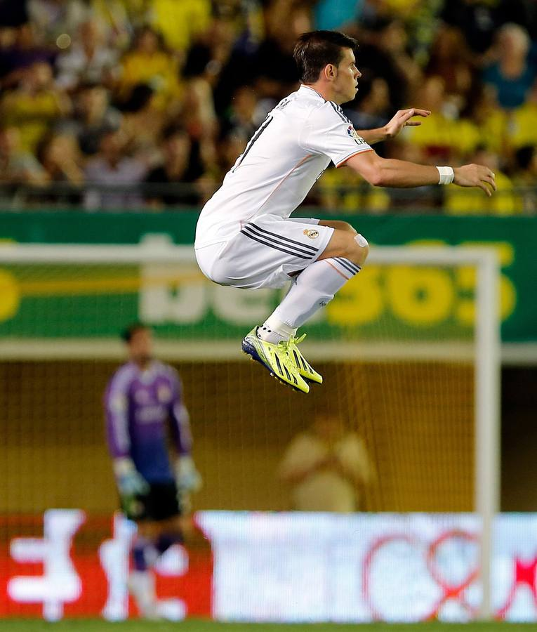 Bale se estrena con gol con el Madrid