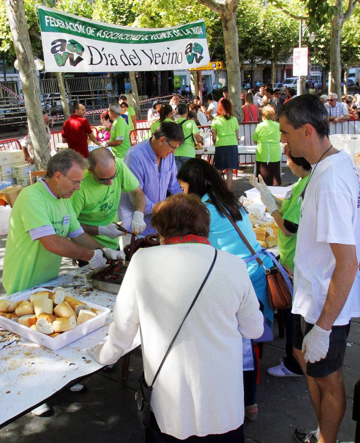 Celebración del Día del Vecino en Logroño