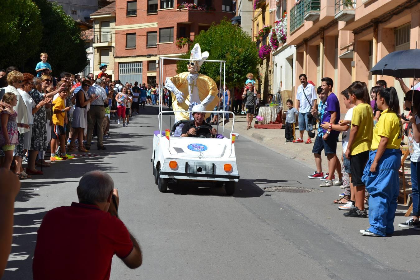 Nájera celebra la carrera de coches locos