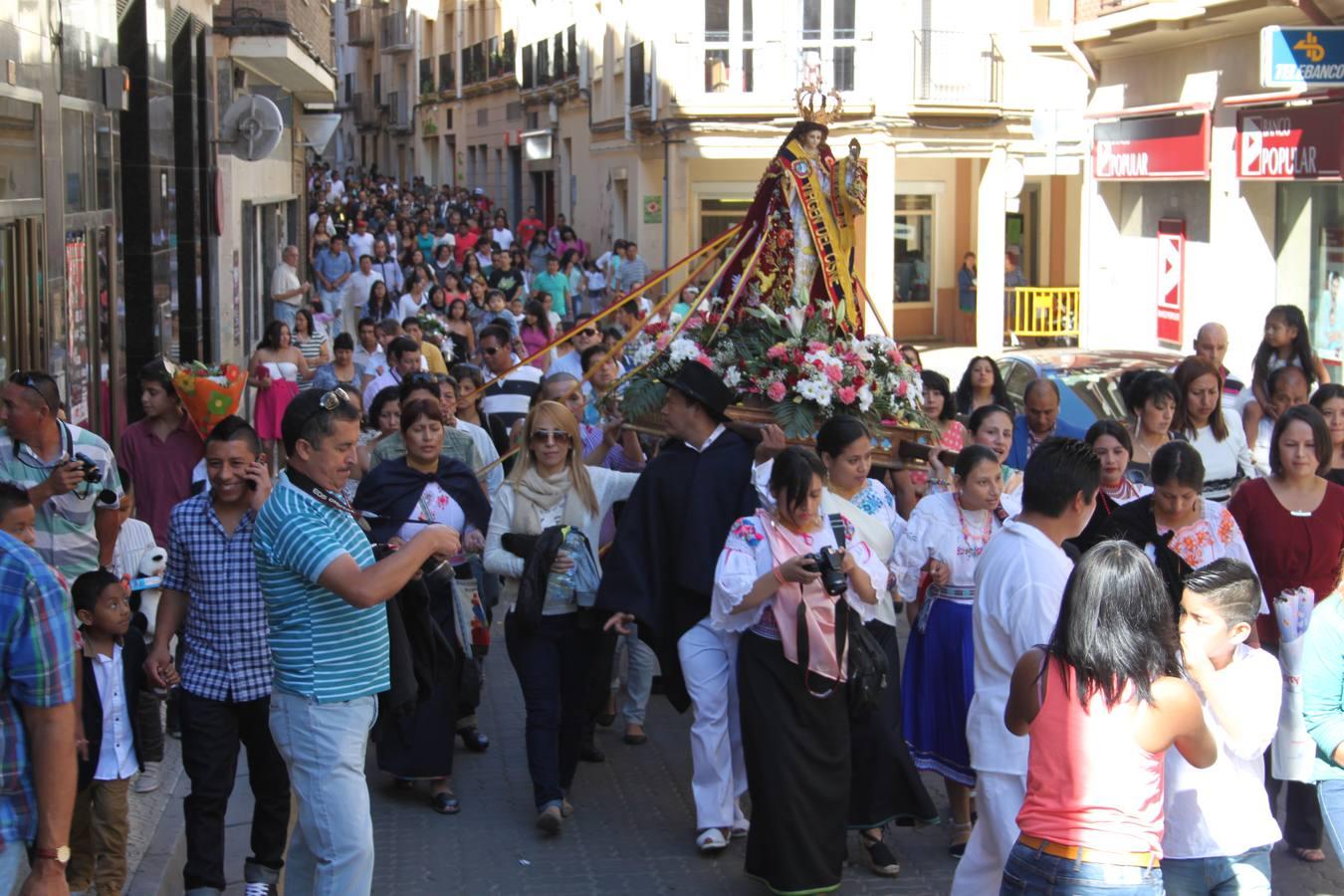 Fiesta de la Virgen del Cisne en Alfaro, la patrona de los ecuatorianos