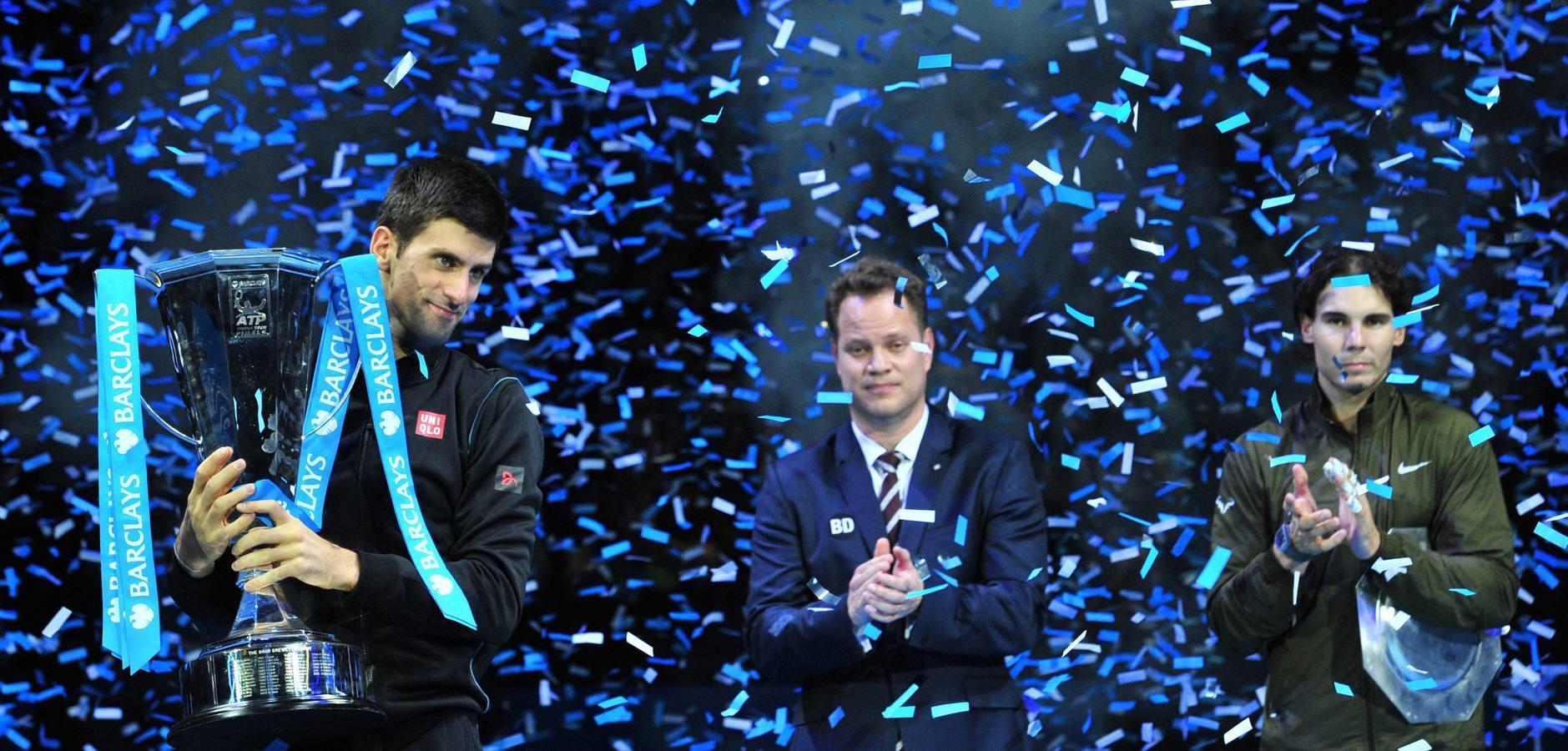 Djokovic sigue siendo el gran maestro