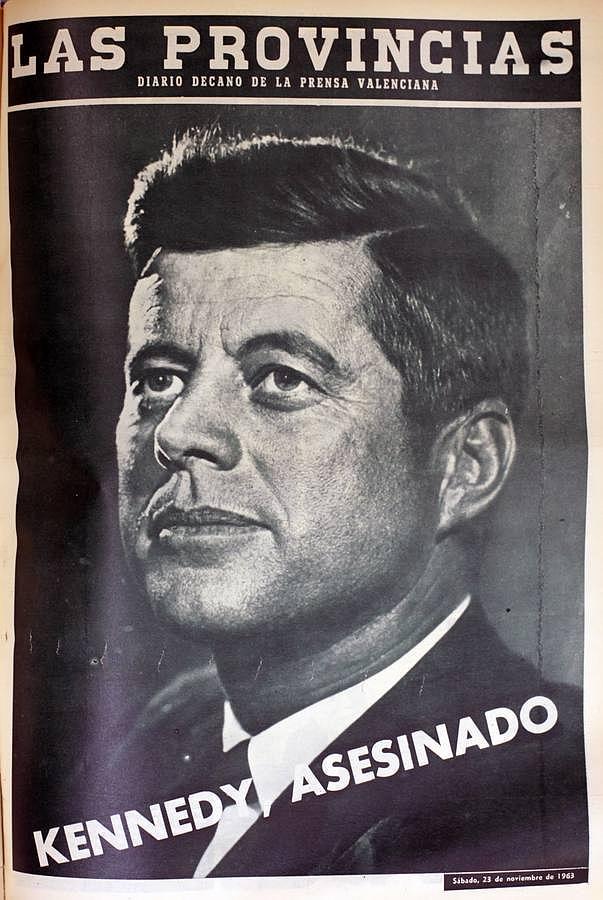 El asesinato de Kennedy, en once portadas