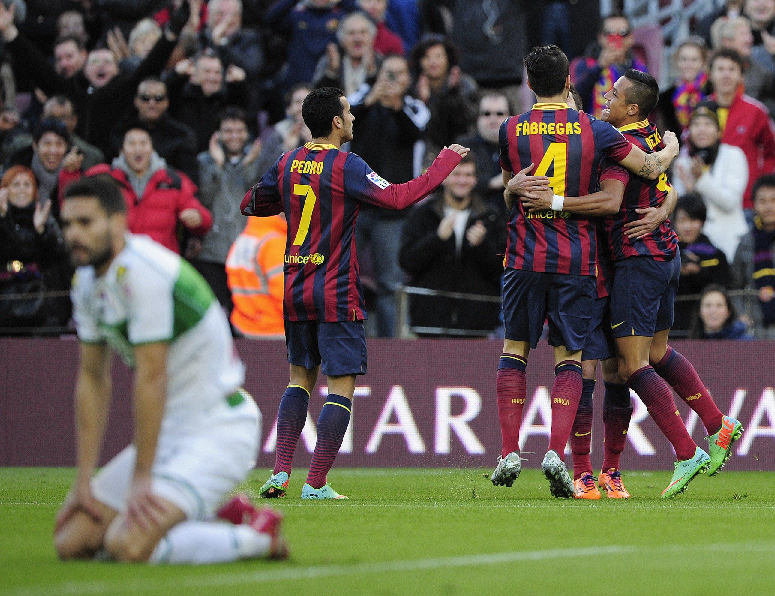 El Barcelona vence al Elche