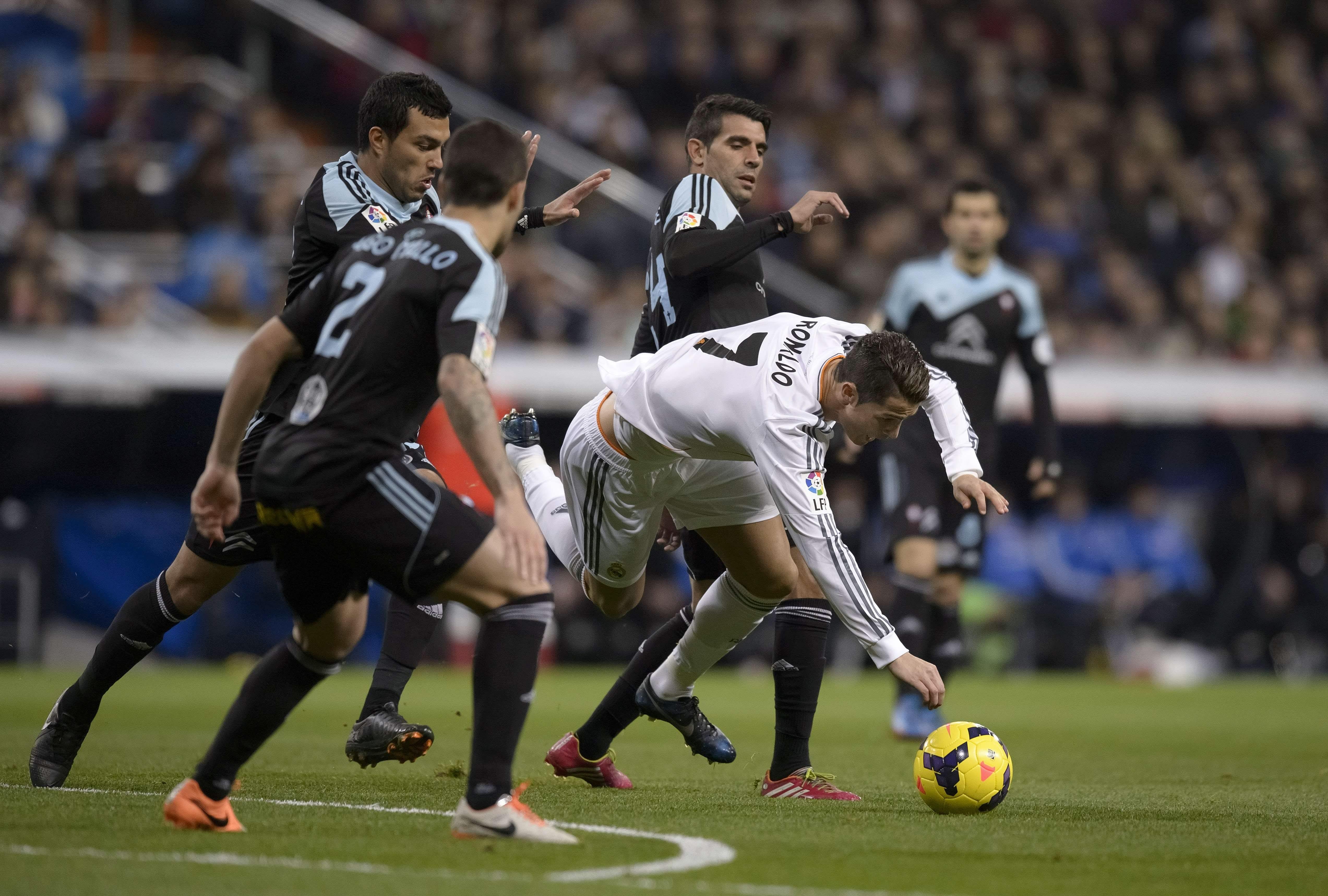 Madrid-Celta en Primera División