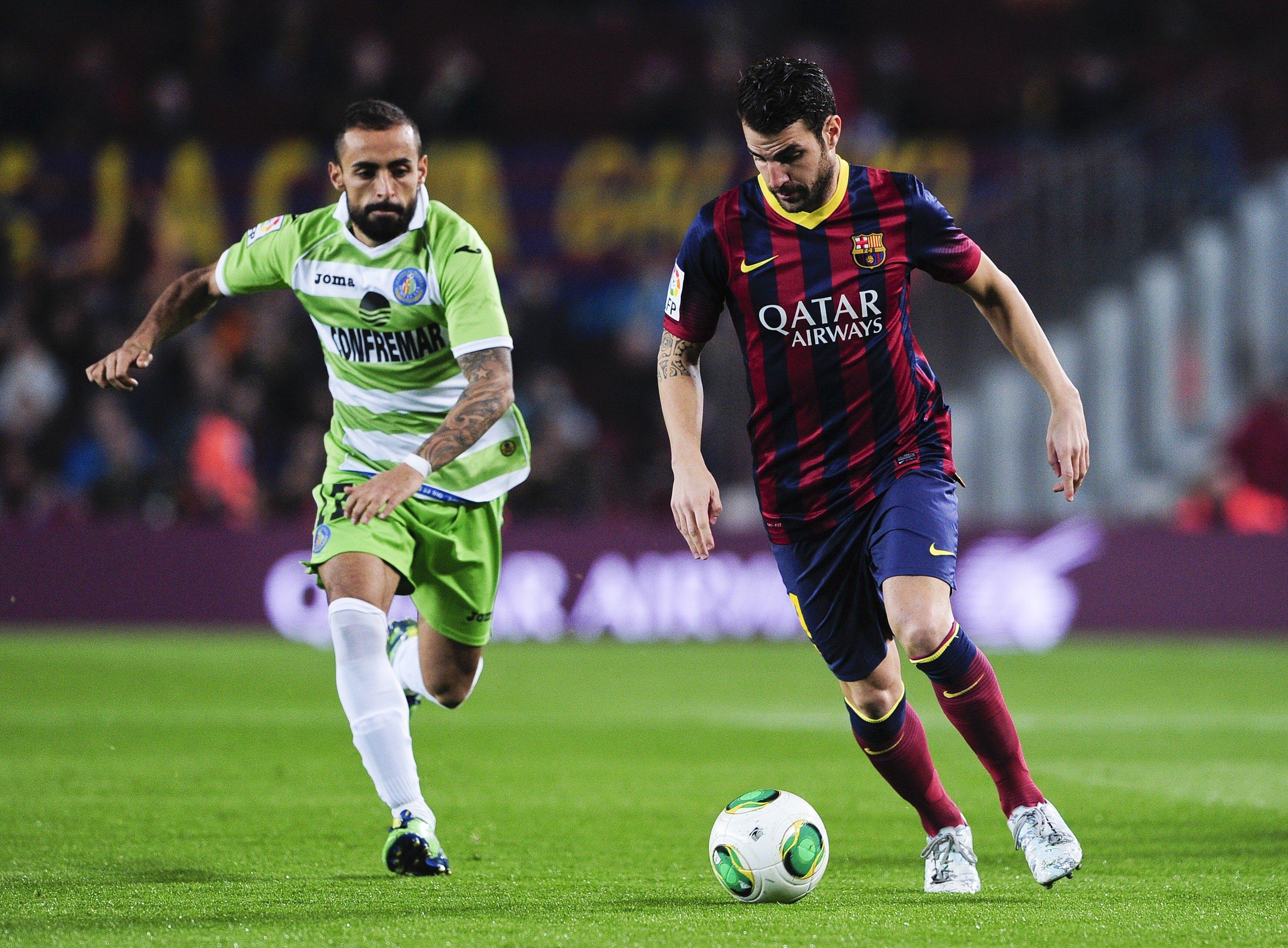 Barcelona-Getafe, ida de octavos de final