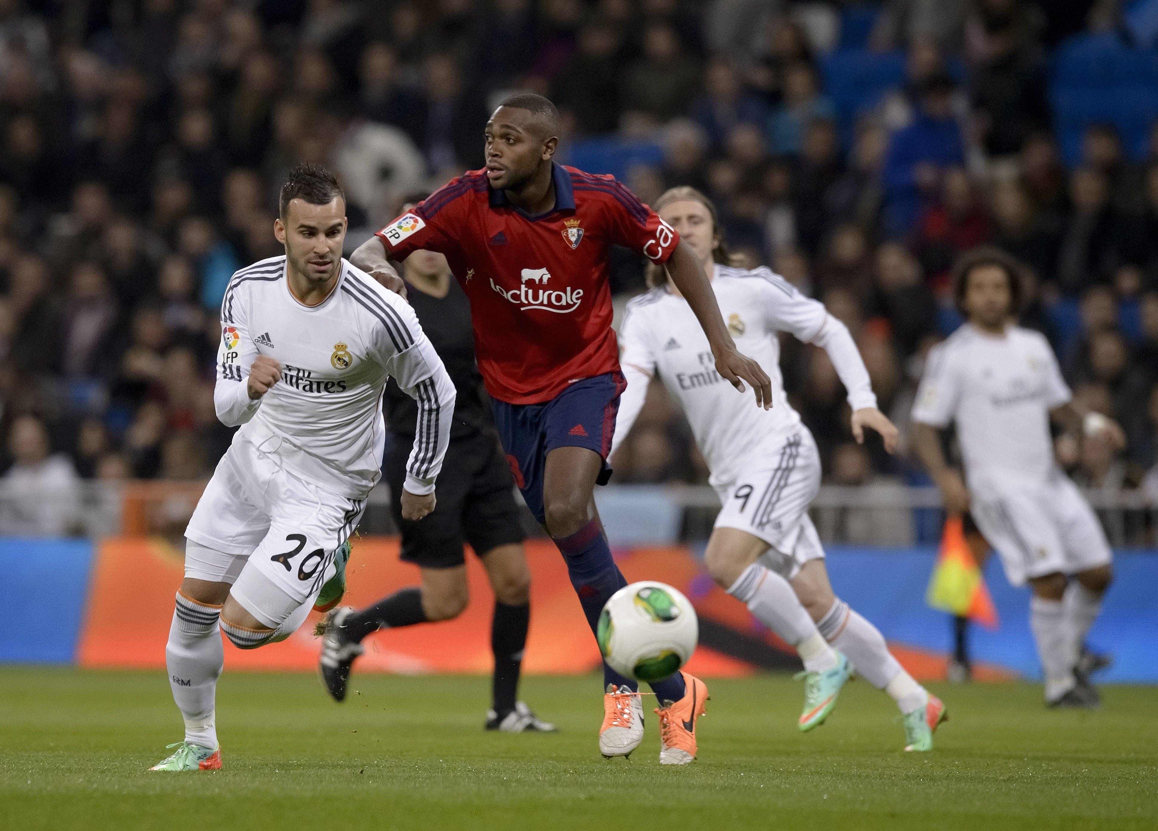 Real Madrid-Osasuna, ida de octavos de final