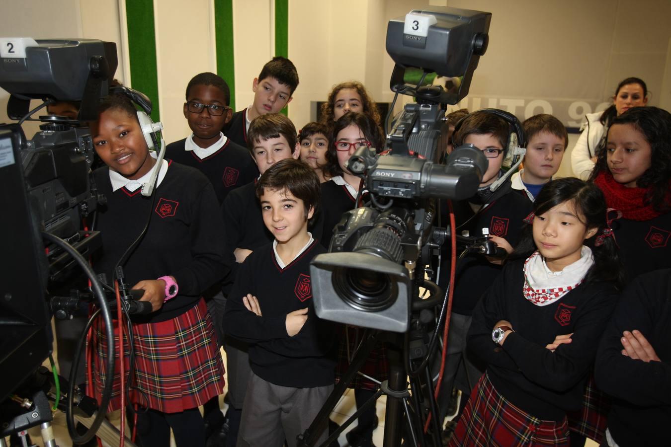 Visita de los alumnos de 5ºB de La Enseñanza a Nueva Rioja (II)