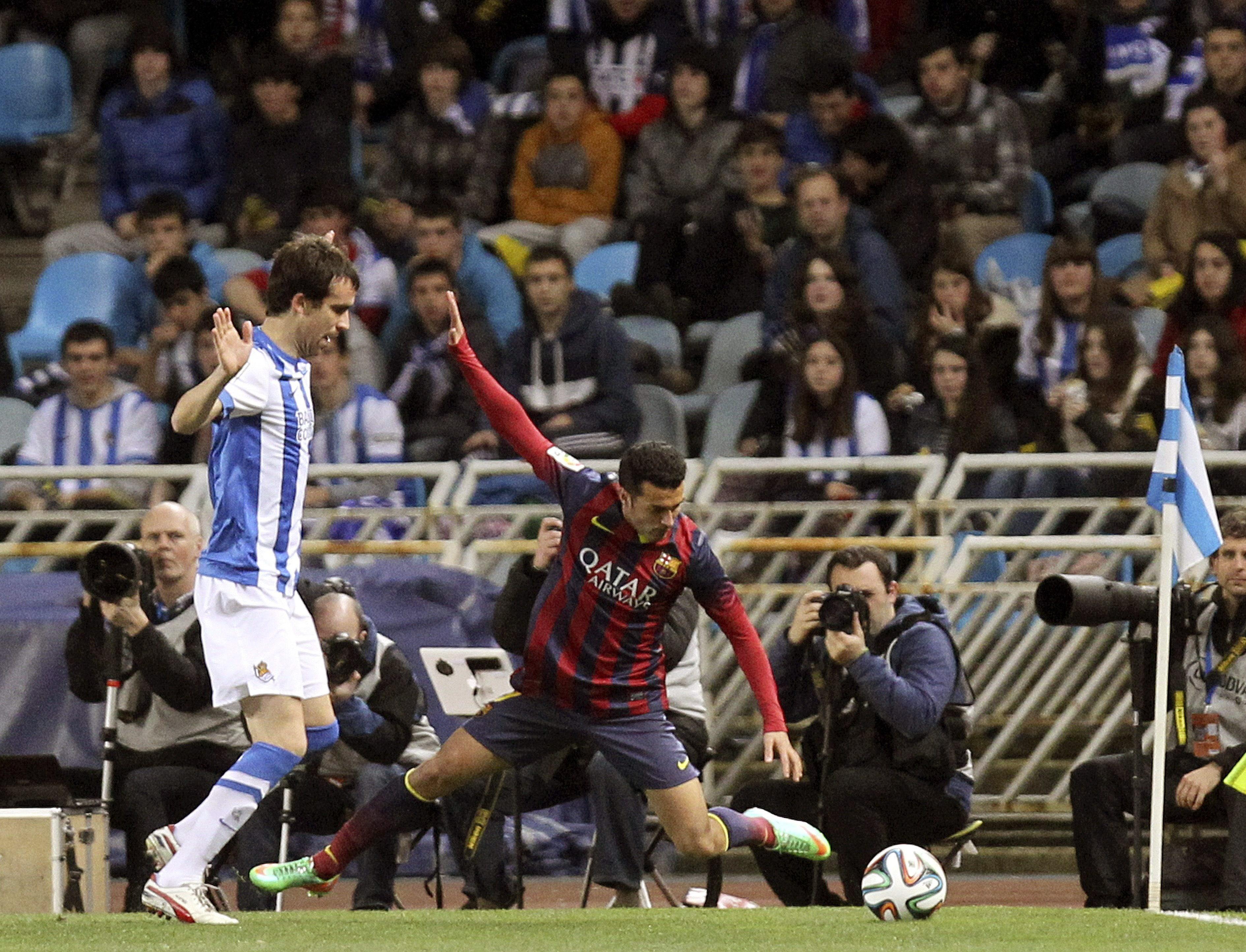 Real Sociedad-Barcelona (vuelta de la Copa del rey)