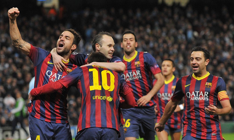 Gran victoria del Barça ante el City