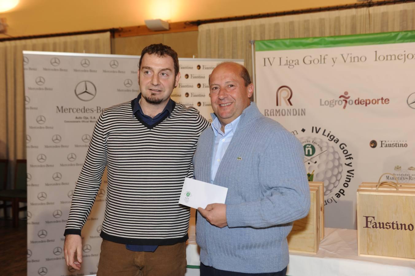 Entrega de premios Torneo Bodegas Faustino (II)