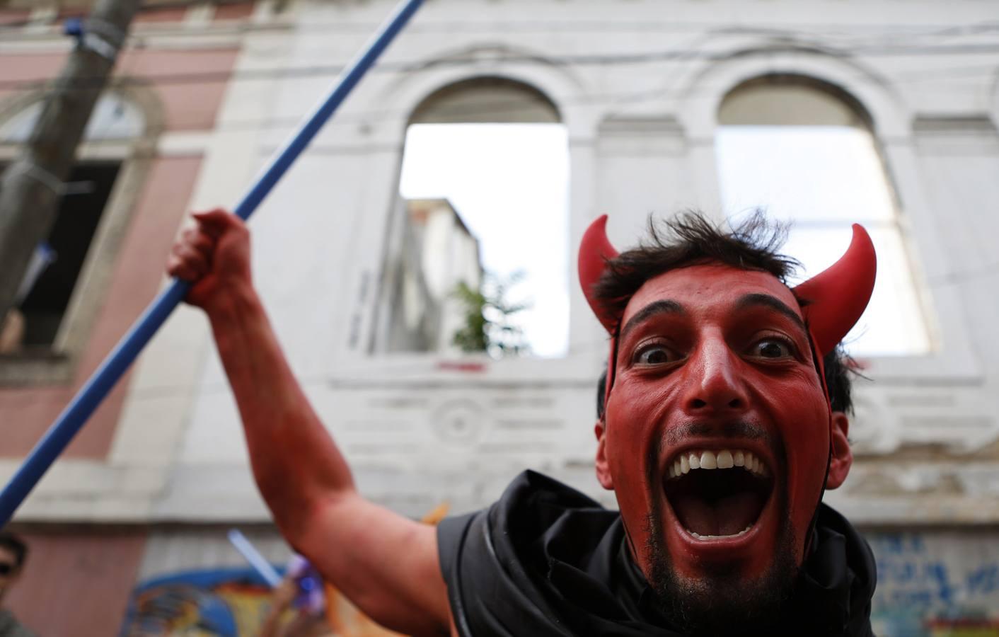 Bola Preta calienta el Carnaval de Río de Janeiro