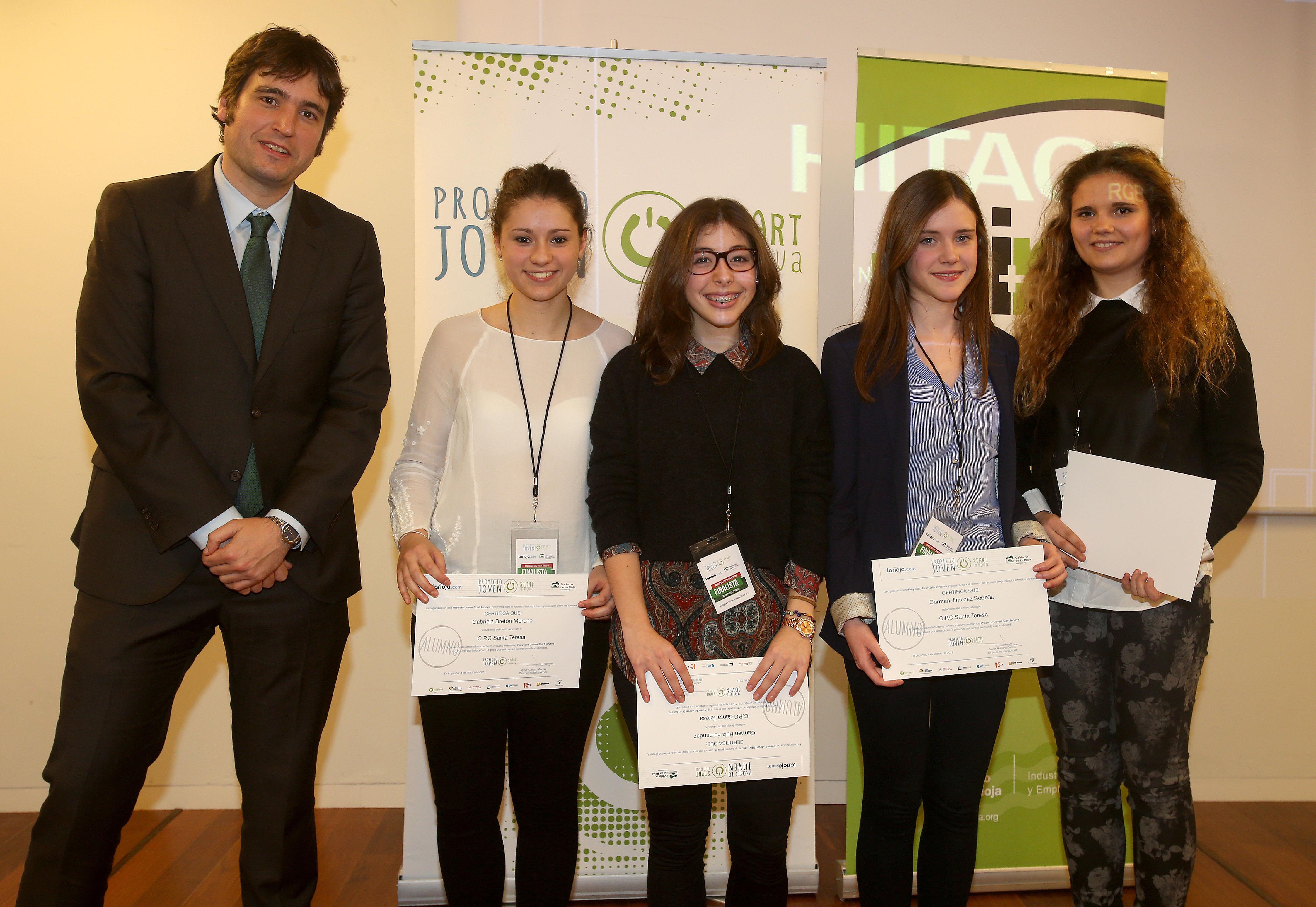 'Proyecto Joven Start Innova': Premios